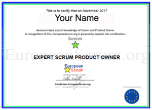 Expert Scrum Product Owner